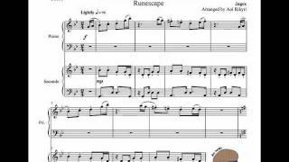 Runescape - Flute Salad (Piano duo)