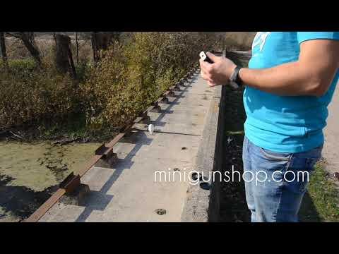 50 выстрелов за 5 минут Брелок MIG X Cal.4mm