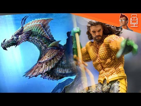 Aquaman Sea DRAGON & Classic suit Revealed