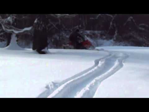 Снегоход ИТЛАН КАЮР  по глубокому снегу!!часть 2