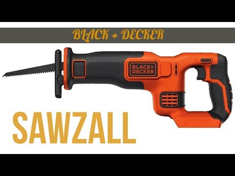 20V Max Reciprocating Saw ► Black and Decker Sawzall Review ◄ Powered Hand Saw Unboxing