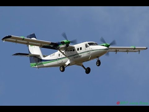 Twin Otter ferry flight to Curacao