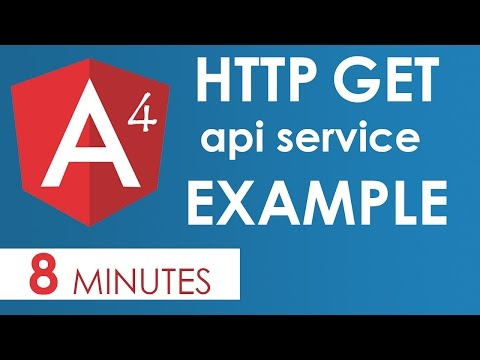Angular 4 HTTP Get Example with Params - YouTube