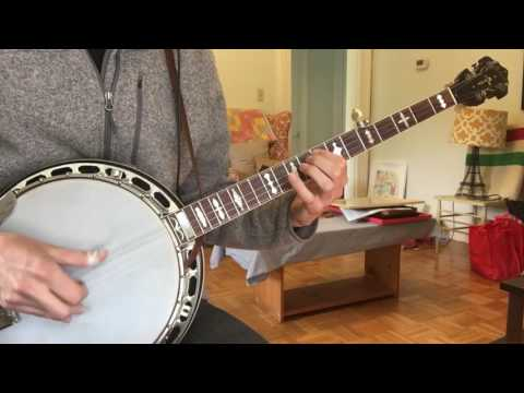 Cotton-Eyed Joe - Don Reno Style Banjo