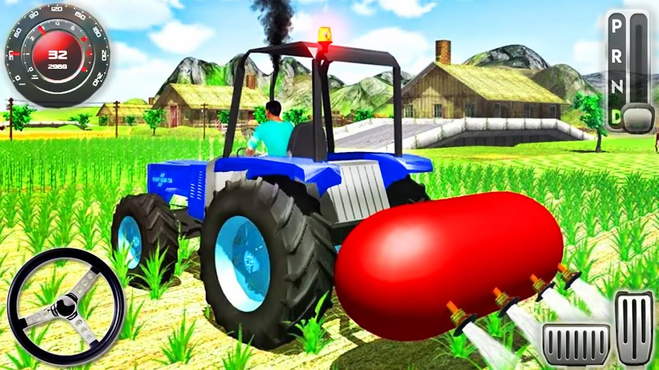Farm Tractor Machine Driving – Farming Simulator – Android GamePlay