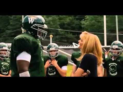 The Blind Side Football Practice Scene