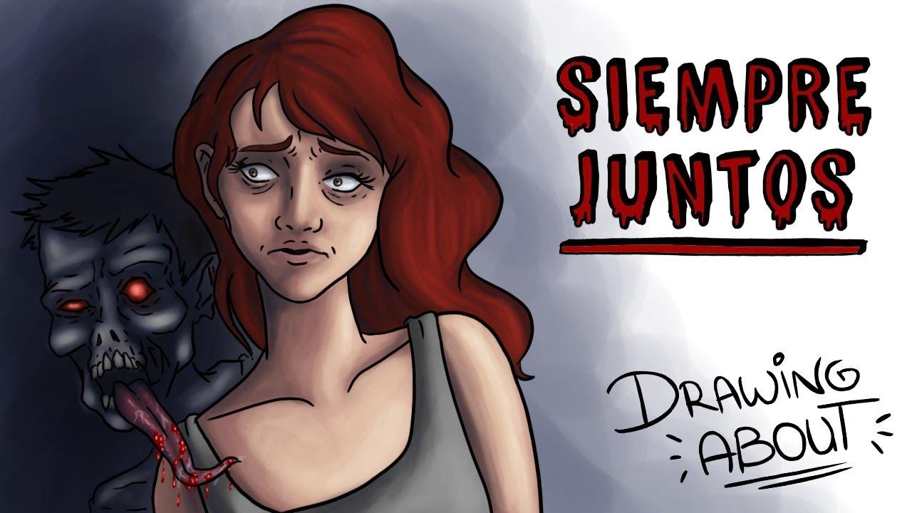 SIEMPRE JUNTOS 💀💘 | Draw My Life | Creepypasta Especial San Valentín