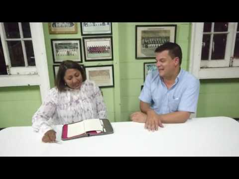 UB Fitness Interviews Georgetown Cricket Club