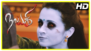 Nayaki Tamil Movie Scenes | Satyam Rajesh tries to escape | Trisha warns Satyam Rajesh | Sushma
