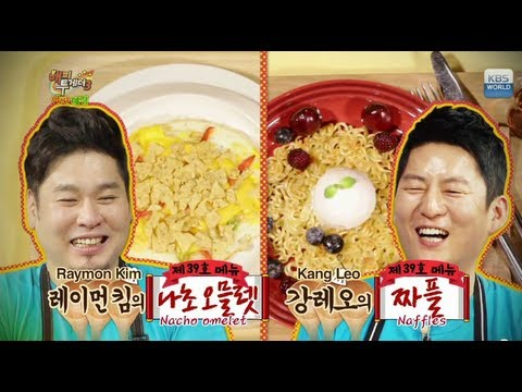 Happy Together - 1st Anniv. of Late Night Cafeteria w/ Lee Gyein, JK Kim Donguk & more! (2013.07.10)