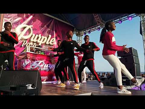 Ghetto Kids Perform at Purple Party