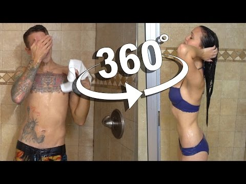 Thumbnail: 360 SHOWER VLOG!! GUY vs GIRL