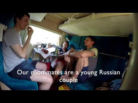 Inside the Transsiberian Railway Train - Restaurant & Classes - Episode 1