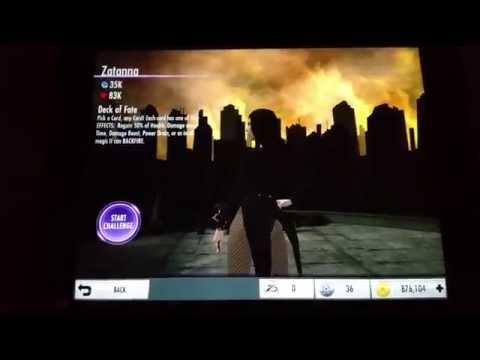 Injustice IOS Android Ares & Zatanna Challenge