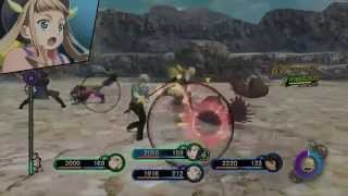 [PS3] - Tales of Xillia 2 Gameplay Video - Battles