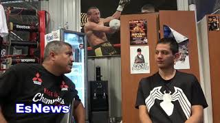 (WOW) Kid Walks 9 Hours To Meet Robert Garcia You Wont Believe What Happens Next EsNews Boxing