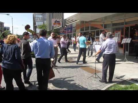 Flashmob 1 - H&M Rm Valcea 22 mai 2014