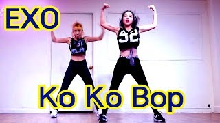 Video EXO Ko Ko Bop cover dance 엑소 코코밥 안무 Waveya download MP3, 3GP, MP4, WEBM, AVI, FLV Oktober 2017
