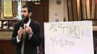 Hebrew/Torah is FRACTAL: The DNA of Creation - Rabbi Mordechai Kraft