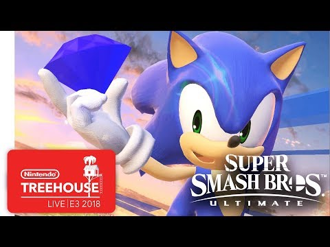 Super Smash Bros. Ultimate Gameplay Pt. 6 - Nintendo Treehouse: Live | E3 2018