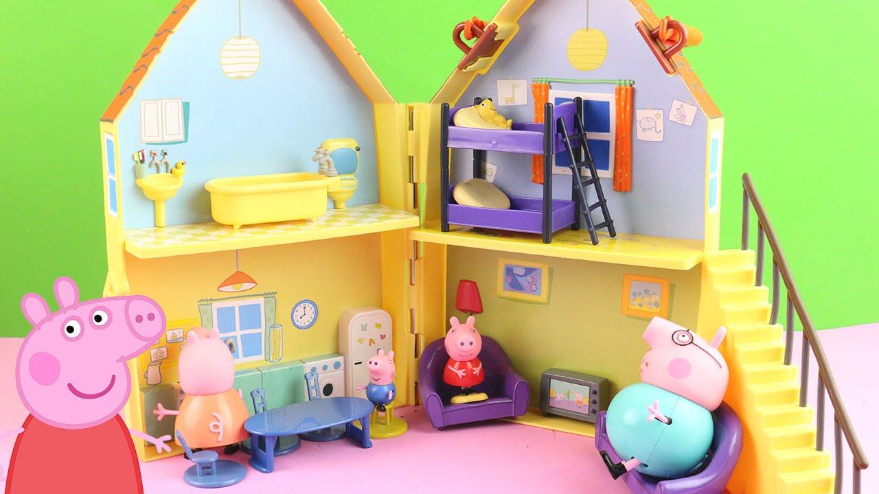 Peppa Pig House A Casa da Peppa Pig Peppa Pig House Deluxe Peppa Pig Playhouse em Portugus