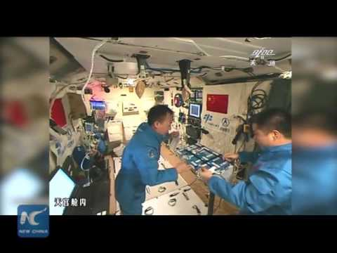 Chinese make tea in space for 1st time! What else Chinese astronauts eat and drink?