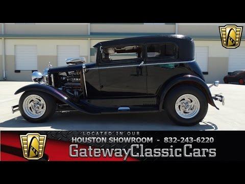 1931 Ford Model A - Houston Showroom - Stock # 354