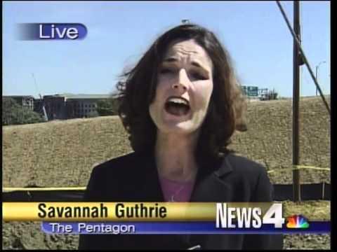 Savannah Guthrie S Report On 9 11 Wrc Tv Youtube