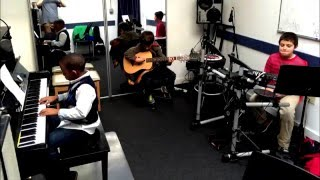 Kids Jam Video - Page Music Lessons - Boston