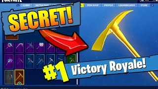 *NEW* How to get the GOLDEN PICKAXE in FORTNITE: Battle Royale (EPIC!)