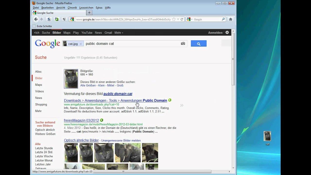 google tutorial bilder mit bildern youtube. Black Bedroom Furniture Sets. Home Design Ideas