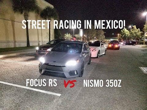 Ford Focus RS vs Nismo 350Z, Subaru WRX vs Mustang 5.0, Turbo Civic, Mustang 5.0