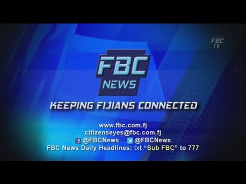 FBCTV 7PM NEWS   26 08 16