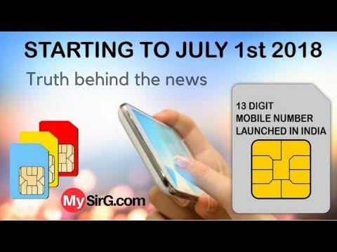 #5 Tech News: Truth behind 13 digit mobile numbers