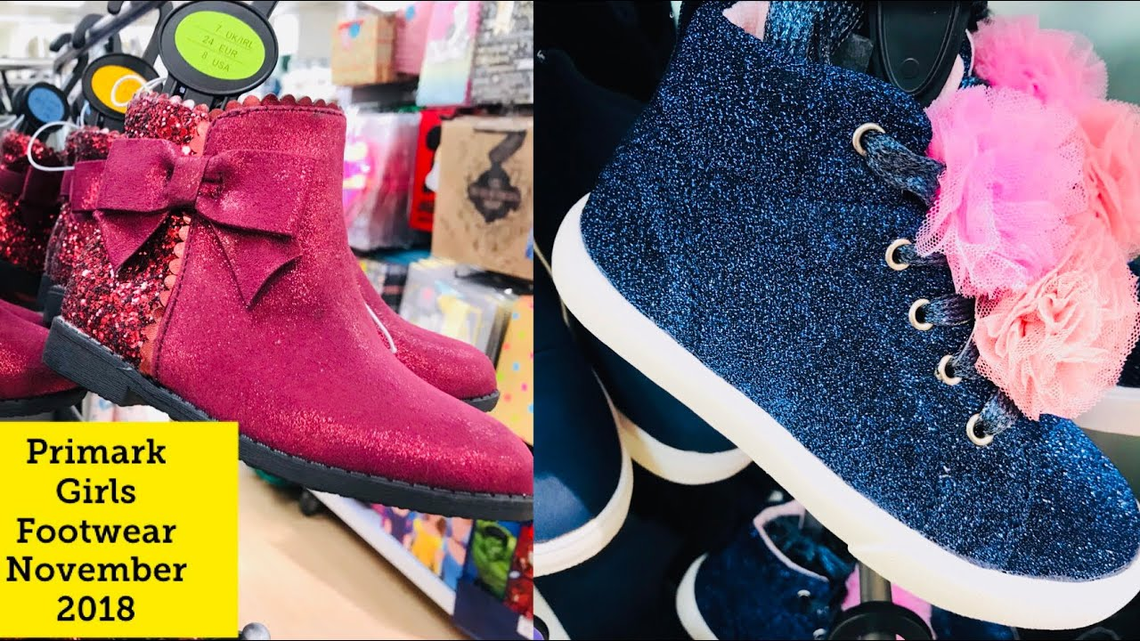 a09cf0add8fe Primark Girls Footwear November 2018 M Primark Lover - YouTube