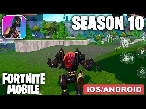 FORTNITE MOBILE Season 10 - Gameplay ( Android/iOS )
