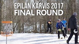 lcgm8 disc golf vihiojan karvis 2017 final round