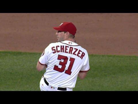 5/11/16: Scherzer's 20 strikeouts leads to victory