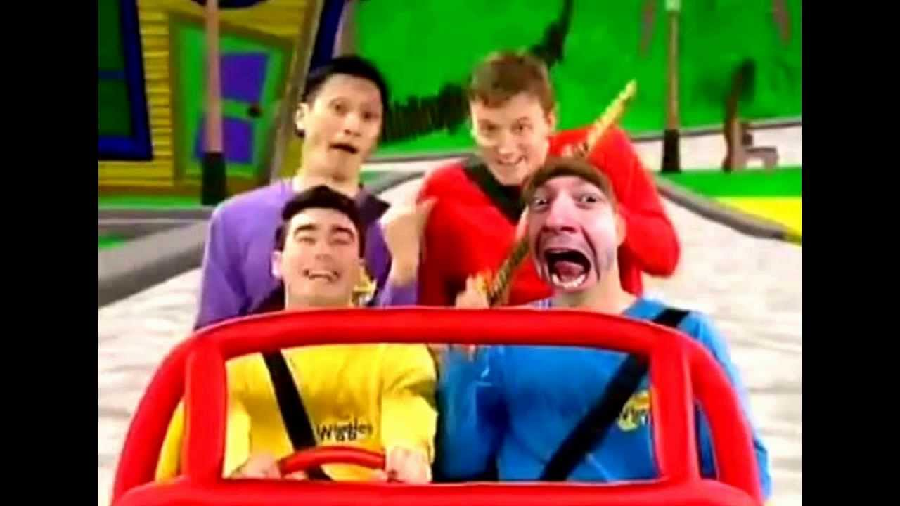 The Wiggles Big Red Car 2nd Edition Youtube