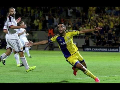 מכבי תל אביב נגד פ.צ. באזל 1-1 פלייאוף ליגת האלופות 2015-16