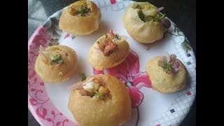 Homemade Pani Puri Recipe | How To Make Golgappa | Puchka Recipe Kolkata Style