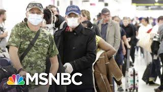 Florida Governor To Mandate New York Area Travelers To Self-Quarantine | MSNBC