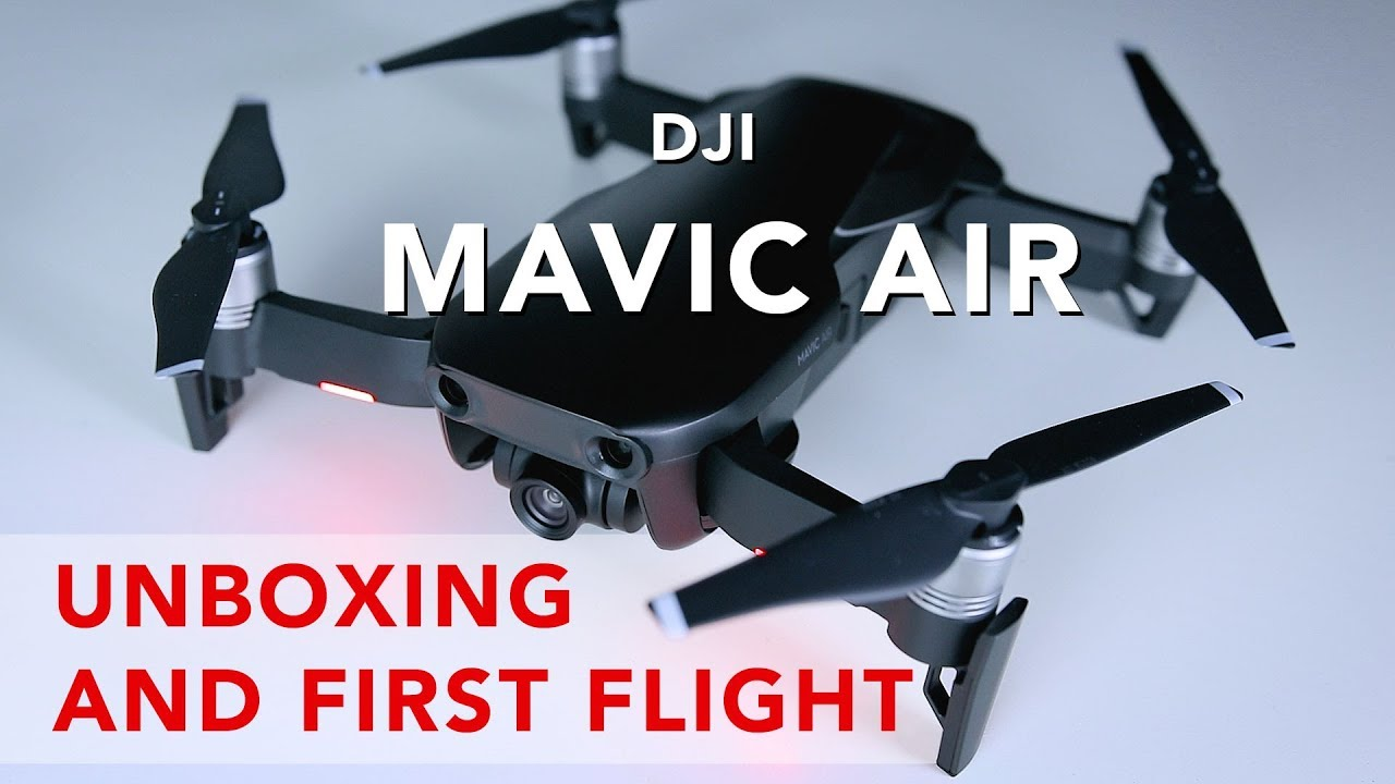 4a56a8433c3 DJI MAVIC AIR unboxing and first flight in PRAGUE OLD TOWN ? - YouTube
