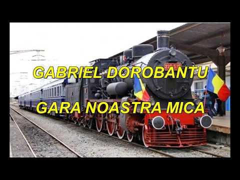 Gabriel Dorobantu - Gara noastra mica Karaoke