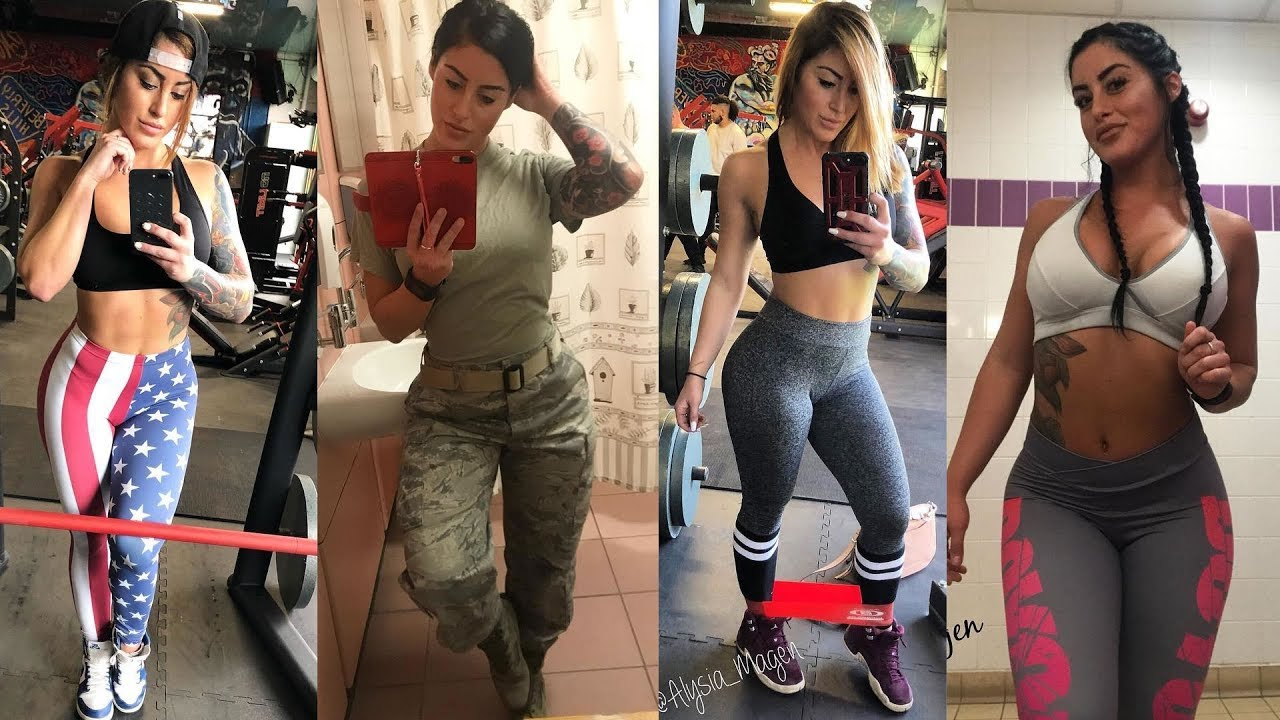 SUPER ABS AND BOOTY WORKOUT WITH AIR FORCE VET AND PERSONAL TRAINER - Alysia Magen