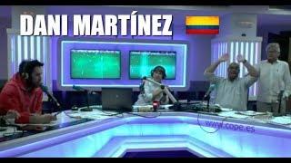 Llamada de Dani Martínez al presidente de Colombia en Tiempo de Juego