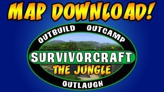 Minecraft: SuvivorCraft | The Jungle Map Download!