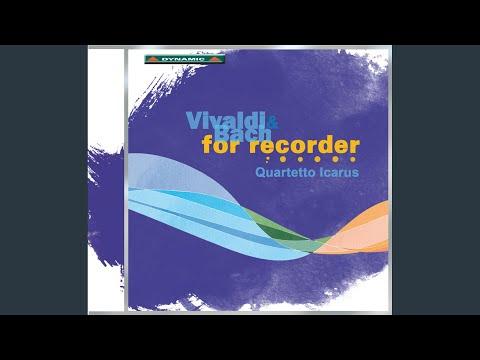 Die Kunst Der Fuge (The Art Of Fugue) , BWV 1080 (arr. For Recorder Ensemble) : Contrapunctus...