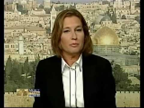 Israeli Foreign Minister Tzipi Livni on Gaza Bombing-MTP 12.28.08