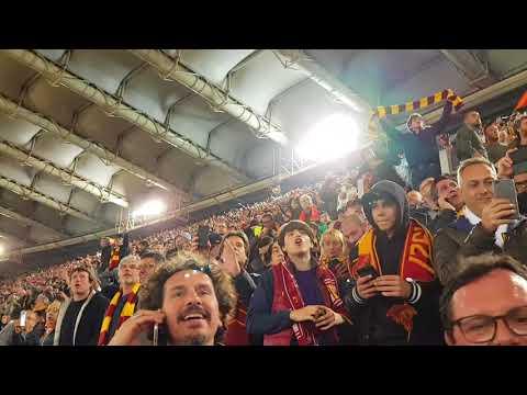 AS Roma vs. FC Barcelona - Post-Game Celebrations